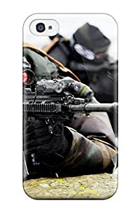 New BIypmVM7830AniKx Modern Day Warriors Tpu Cover Case For Iphone 4/4s