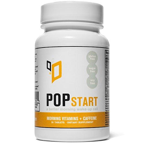 PopStart Morning Vitamins Caffeine Tablets