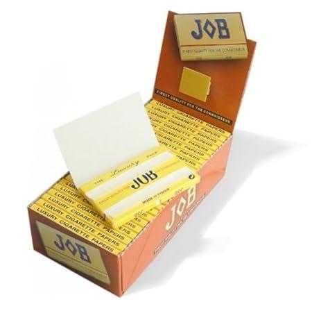 Küchenhelfer & Kochzubehör 25Heftchen JOB Regular Größe feinstem Qualität für das Connoisseur Zigarettenpapier Bar-Accessoires