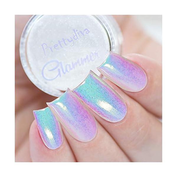 PrettyDiva Chrome unicorn nail powder 5