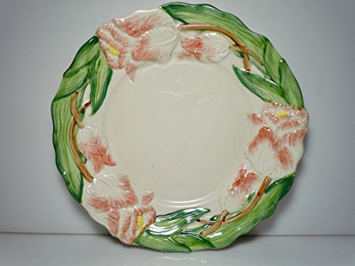 Fitz and Floyd Tulip Garden Salad Plate 8 1/4