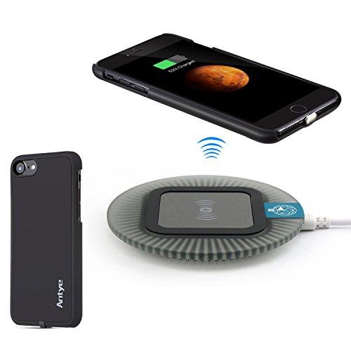 お勧め挨拶するリアルAntye iPhone 7(4.7インチ)Qiワイヤレス充電器、 ワイヤレス充電レシーバーケースとワイヤレス充電器パッドを含む