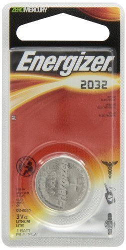 (Energizer E-CR2032BP Battery; Lithium; 3 V; 225 mAh (Typ.); 0.06 cu.in. (Typ.); 0.315 in. Dia. (10 pieces))