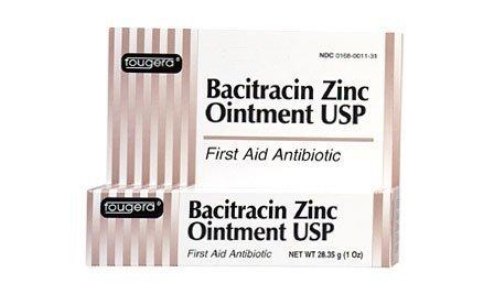Bacitracin Zinc Ointment, USP - 1/2 Oz Tube - Fougera - (Fougera Bacitracin Zinc Ointment)