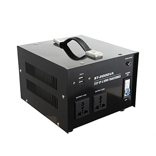 Co Z Premium 2000 Watts Step Up Amp Down Voltage Transformer