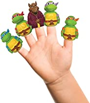 Nickelodeon TMNT Finger Puppets - Party Favors, Educational, Classroom Rewards, Bath Toys