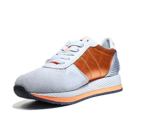 Collection Blauersrun Ora Flu Cuir Chaussures Sneakers Printemps Orange 2016 Ete Femme Nouvelle 0a0qxrwd