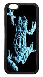Generic Fringe Frog Back Case for Apple Iphone 6 4.7 Inch TPU Black Bumper