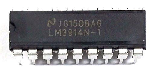 National Semiconductor LM3914N-1 IC Dot/Bar Display Driver (Pack of 25) by National Semiconductor (NSC)
