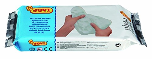 Jovi Air-Dry Modeling Clay; 1.1 lb. White, non-staining, perfect for Arts and Crafts Projects - Non Staining