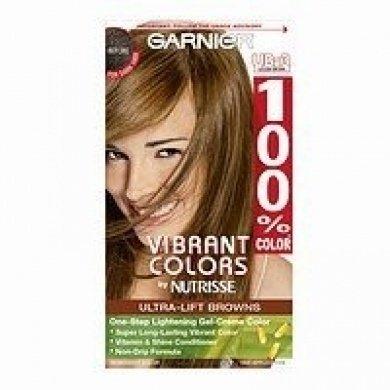 Garnier 100% Colour (Garnier 100% Colour Ultra-Lift Browns Gel-Creme Colour, Golden Brown UB-3 1)