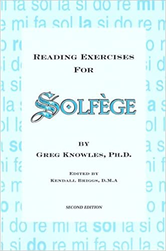 Reading Exercises for Solfege: Greg Knowles: 9781882320059: Amazon ...