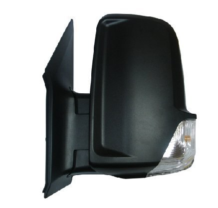 Replacement Power Mirror W/Signal for Dodge Freightliner Mercedes Benz Sprinter 2006-Current time 9068106016 9068106116 (Driver (LH) - Dodge Sprinter Van 2008