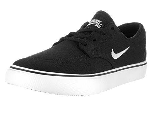 Nike Kids SB Clutch Black/White 3.5 M US Big Kid (Nike Neon Black Sneakers)