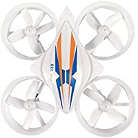 Owill YILE S22 2.4GHZ Mini 4CH 4-Axis Quadcopter 3D Flips Drone All Inclusive Pattern With 2 LED Lights (White)