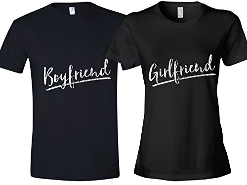 Texas Tees Matching Couple Shirt, Girlfriend and Boyfriend Shirt, Ladies Small & Mens Large