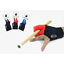 Kamui Fluidity Glove Professional Billiard Accessories in 3 Color for Carom Pool Left / Right Handed Players ( LHP = Right Hand Glove / RHP = Left Hand Glove ) Available in Size S / M / L / XL