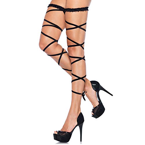 Leg Avenue Womens Garter Leg Wrap Set