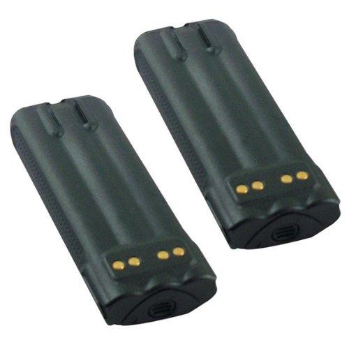 Hitech - 2 Pack of NTN8610 Replacement Batteries for Motorola XTS3000, XTS3500, XTS4250, XTS5000, MTP200, MTP300 2-Way Radios (Li-Ion, (1880 Mah Battery)
