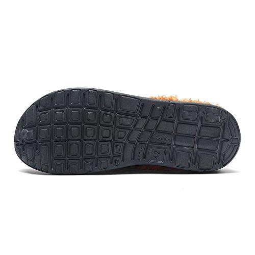 Zapatos en Transpirable a algodón y Puremee Interior Hombres Ligera Felpa Slip Azul pie de Aire Forro de Libre de al 1xq4vPtw