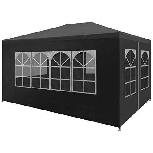 Festnight 9' x 13' Garden Outdoor Gazebo Canopy with 4 Sides Removable Walls and Zip Doors Heavy Duty Waterproof Patio Party Wedding Tent BBQ Shelter Pavilion Cater ()
