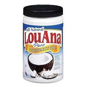 UPC 555113262000, All Natural Louana Pure Coconut Oil, 31.5 Oz