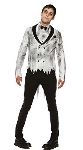 (Zombie Groom Adult Costume -)