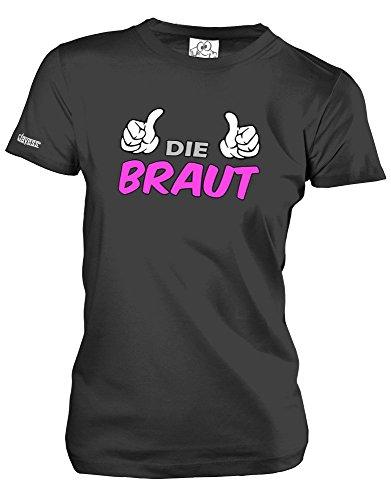 DIE BRAUT - JGA - Schwarz - WOMEN T-SHIRT by Jayess Gr. XXL