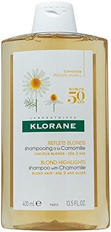 Klorane Shampoo with Chamomile - Blond Hair , 13.4 fl.