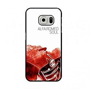 Alfa Romeo Logo Cell Phone Funda Snap On Samsung galaxy s7edge