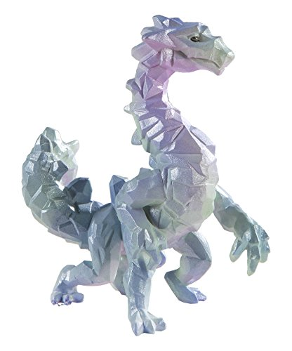 Safari Ltd - Crystal Cavern Dragon - Realistic Hand Painted Toy Figurine Model - Quality Construction from Safe and BPA Free Materials - for Ages 3 and -