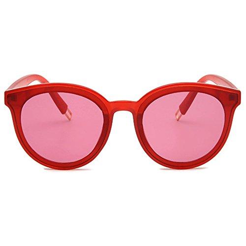 Colors Ojo de Gafas hibote sol de Ocean Unisex gato Rojo UV400 qwxp68x