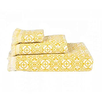 Harmony toalla de baño Meknes, algodón, Absinthe, 50 x 100: Amazon.es: Hogar