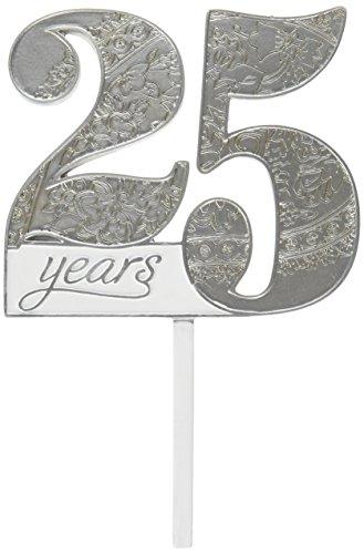 Lillian Rose 25th Anniversary Decor Number Cake (25 Anniversary Cakes)