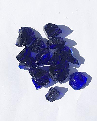 Large Royal Blue Fire Glass Fire Pit Glass 1 2 Quot 1 Quot 10lbs