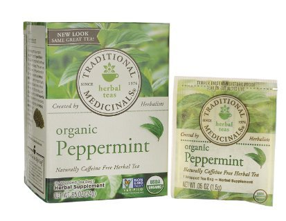 Traditional Medicinals Peppermint Herbal Tea 16 ea (2 Pack)
