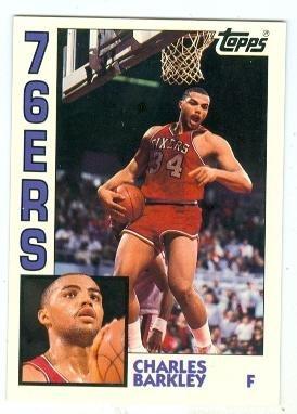 Charles Barkley basketball card (Philadelphia 76ers) 1993 Topps Archives #44