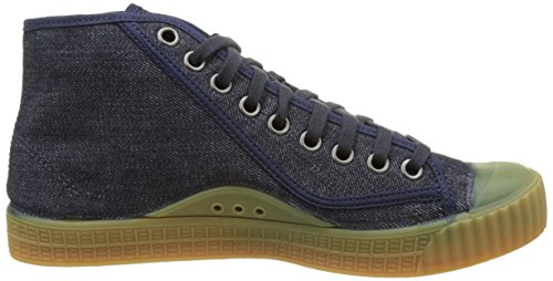Dk Roel RAW G Mid Homme Bleu Sneakers STAR 881 Navy Basses Rovulc z71qRw