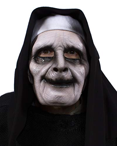 Zagone Studios Ghostly Habit Evil Nun UV Reactive Mask Black]()