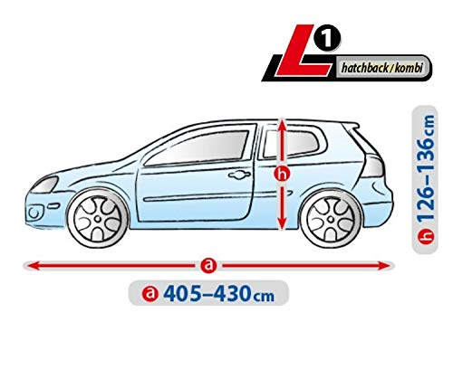 Autoplane ATMI L1 atmungsaktiv kompatibel mit Seat Arona I autoschutz Abdeckung