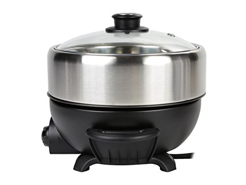 TRMC-40 Shabu and Grill Multi-Cooker, 4 quart, Black by TAYAMA (Image #4)