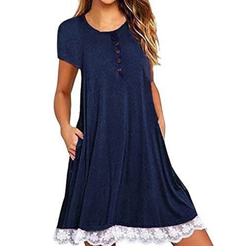 UONQD 2019d New Dresses for Women Casual Summer Under 10 ()