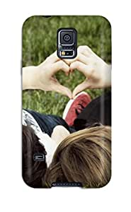 shameeza jamaludeen's Shop Hot Design Premium Tpu Case Cover Galaxy S5 Protection Case(lovers Love Romances)