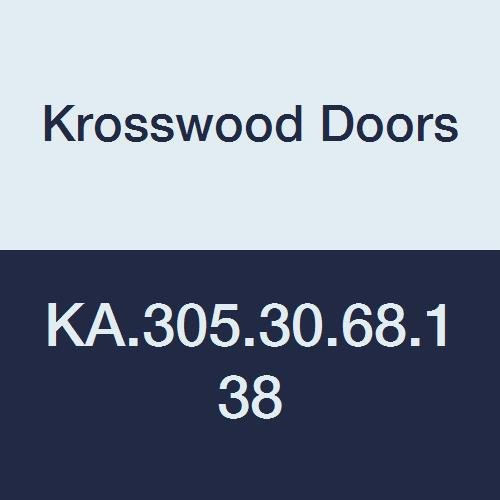 Krosswood Doors KA.305 Knotty Alder Interior 2-Panel Door Slab only not pre-hung, 36-in x 80-in