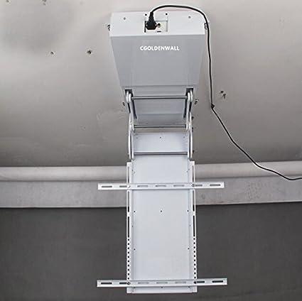 CGOLDENWALL Soporte giratorio para televisor LCD de 32 a 70 pulgadas, con mando a distancia, giratorio eléctrico de 220 V: Amazon.es: Hogar