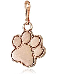 Women's Paw Print Charm 14KT Rose Gold Plated, Expandable