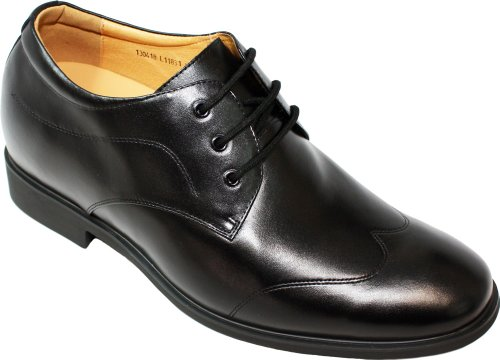 mens dress shoes 1 5 inch heel - 8