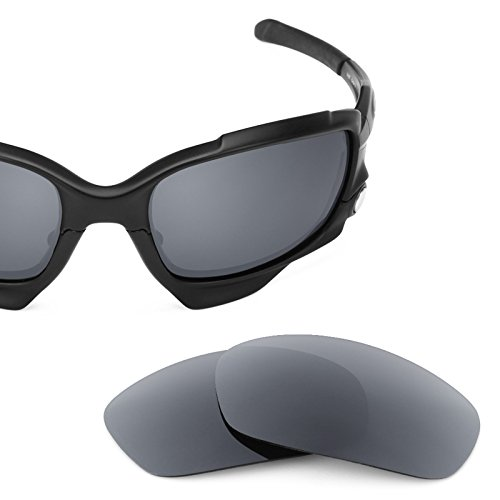 Jawbone Replacement - Revant Polarized Replacement Lenses for Oakley Jawbone Smoke Grey