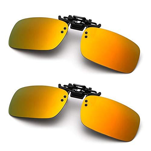 High Quality Clip On Sunglasses - Clip on Sunglasses Unisex Polarized Frameless