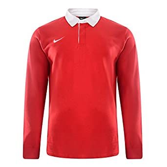 Nike Mens Long Sleeve Classic Rugby Jersey Polo T Shirt. (514577 657100)